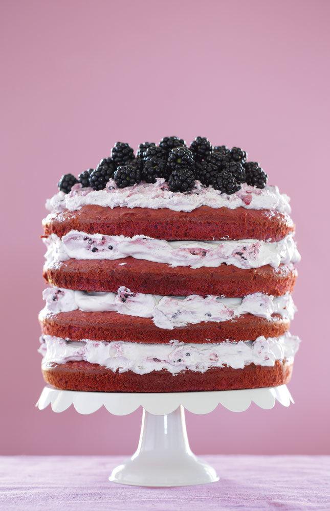 Blackberry Layer Cake
