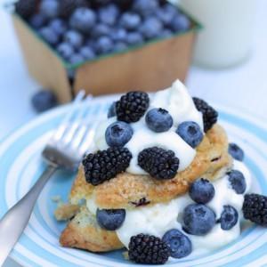 Berry Scone Shortcake
