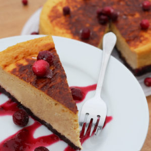 cranberry-chocolate porter-cheesecake