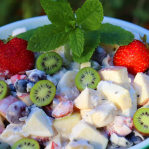 shanet abeyta's secret fresh fruit salad